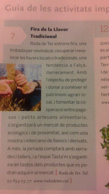 Revista Cuina Fira